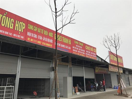 Cho thuê kho bãi tại khu đô thị Thanh Hà Hà Đông